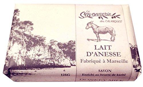 Jabón leche burra enriquecido manteca karité, 125g