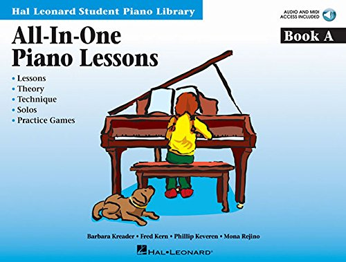 All-in-One Piano Lessons Book a Piano+Enregistrements Online (Hal Leonard Student Piano Library (Songbooks))