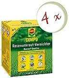 Oleanderhof® Sparset: 4 x COMPO Rasenunkraut-Vernichter Banvel® Quattro, 75 ml + gratis Oleanderhof Flyer