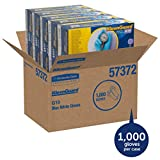 KLEENGUARD* G10 Blaue Nitrilhandschuhe – Größe L (Art.-Nr. 57373), 100 beidhändig tragbare, blaue 24-cm-Handschuhe pro Box (VE mit 10 Boxen)
