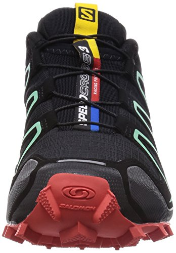 Salomon Speedcross 3, Trail femme Noir - Black (Black/Nectarine/Lichen Green)