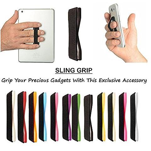 rmctrends® Idéal cadeau–Téléphone portable/tablette/Ipad/Iphone/Ipod bande élastique Grip [assure vous n'avez pas à reposer votre appareil sur votre Douleurs/les petit doigt–éviter