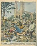 Torme di negri hanno assalito gli italiani che passeggiavano per le vie di Mogadiscio.