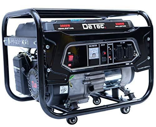 DeTec -Generador eléctrico de gasolina