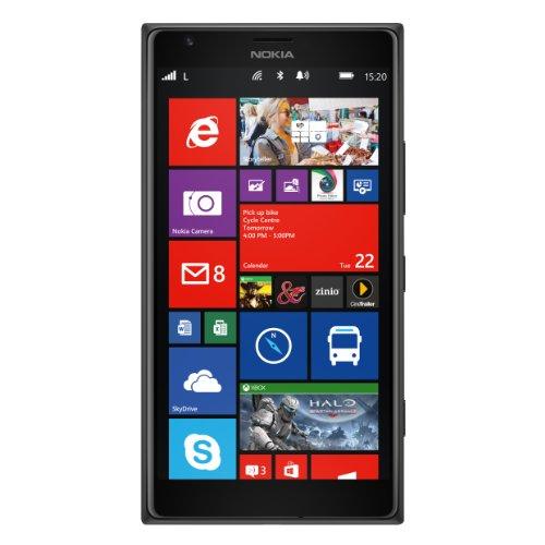 Nokia Lumia 1520 - Smartphone libre Windows Phone  pantalla 6   c  mara 20 Mp  32 GB  Quad-Core 2 2 GHz  2 GB de RAM   negro