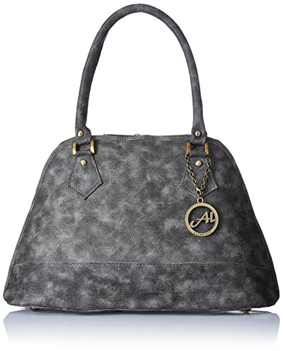 Alessia74 Women\'s Satchel (Dark Grey) (SU009B)