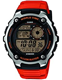 Casio Herren-Armbanduhr Digital Quarz Resin  AE-2100W-4AVEF