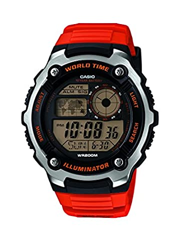 Casio Herren-Armbanduhr Digital Quarz Resin