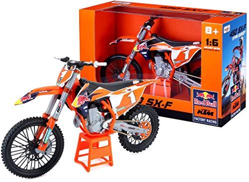 Maisto 532227 - Motocicleta, Color Naranja