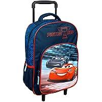 Undercover CAAD8126 Mochila Escolar Infantil con Ruedas Trolley Blanda aprox 36 x 26 x 10 cm Cars