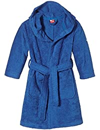PUMA Bademantel Active Bathrobe Bund G - Traje de baño, color azul, talla de: 116