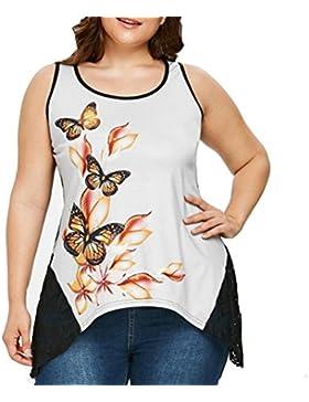 FAMILIZO Camisetas Sin Manga Mujer Camisetas Mujer Verano Blusa Mujer Sport Tops Mujer Verano Camisetas Mujer...