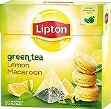 Best Lipton Tea Cups - Lipton Green Tea - Lemon and French Macaroon Review