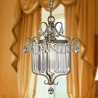 ZJJ American Country Restaurant Lampada lampadario di cristallo