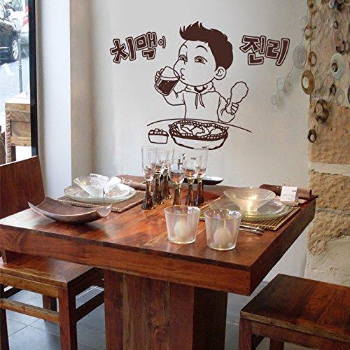 Fried Chicken, Beer, Milk Tea, Dessert Shop, Fast Food Restaurant, bar, Beverage, Glass Doors and Windows, Wall Stickers, Wall Stickers.