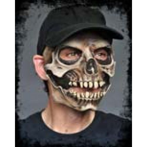 Mask Moving Mouth Skull & Cap