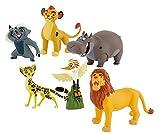 Bullyland Die Garde der Löwen 6 Figuren - nachfolger von König der Löwen
