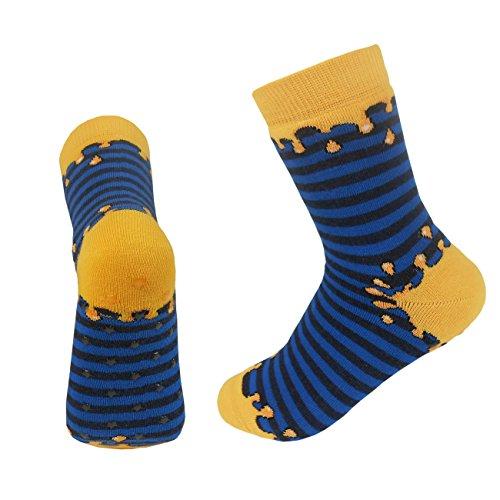 Preisvergleich Produktbild Ergora Rutschis ABS Socken Phthalatfrei ohne Weichmacher Uran Gr. 27/30 Stoppersocken Hauschuhe Damen Herren Kinder