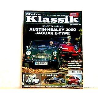Motor Klassik. Das Oldtimermagazin von auto motor und sport. Heft: 2 / 2004. Mit Themen u.a.: Roadster-Träume. Austin-Healey 3000. Jaguar E-Type. / Fahrbericht: Mercedes 300 S Cabriolet.