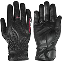 A de Pro Urban Sport Motorcycle Moto Scooter Leather Gloves Cruiser Summer Black L