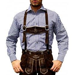 Disfraz de pantalones de cuero traje Oktoberfest Trachtenmode