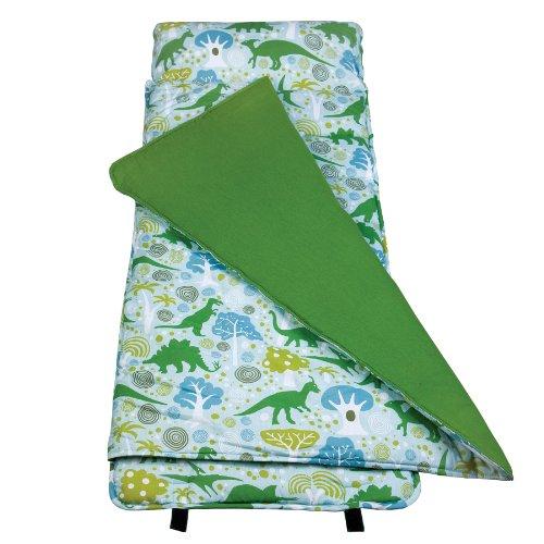now-in-uk-wildkin-kids-nap-mat-slumber-bag-sleeping-bag-dinomite-dinosaurs