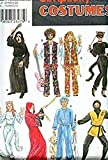 Best Simplicity Costumes - Simplicity Costumes 8871 Sizes 30-48 Hippies, Scream, Cats Review