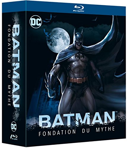 Batman Fondation du mythe : The Dark Knight 1 & 2 + Year One + The Killing Joke - Blu-ray - DC COMICS