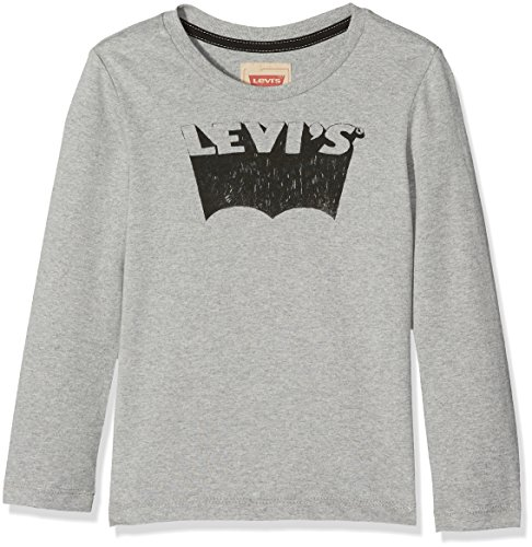 Levi's t-shirt, maglietta a maniche lunghe bambino, grey (grey chine), 14 anni