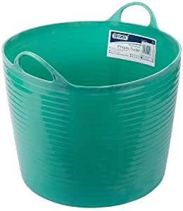 Draper 49099 42-Litre Multi-Purpose Flexible Bucket (Green)