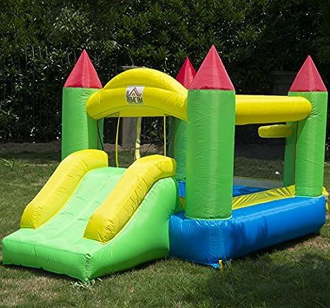 Homcom Kids Bouncy Castle Inflatable Bouncer Bounce House and Slide