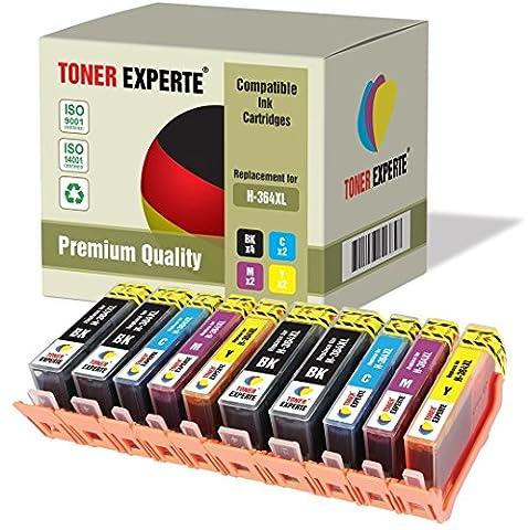 Pack 10 XL TONER EXPERTE® Cartouches d'encre compatibles pour HP