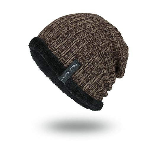 (VRTUR Unisex Knit Cap Warm portlich Elegantes Outdoor Fashion Head Hat Strick Mütze Hedging Cap)