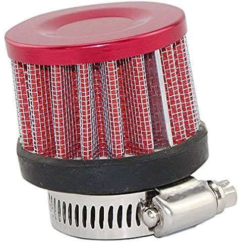 Pink Lizard 25 millimetri auto calibro di acciaio inossidabile di stile fungo testa del filtro aria più pulita