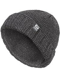 Gwinner Strickmütze warme und dicke Wintermütze ideal für kalte Tage G1