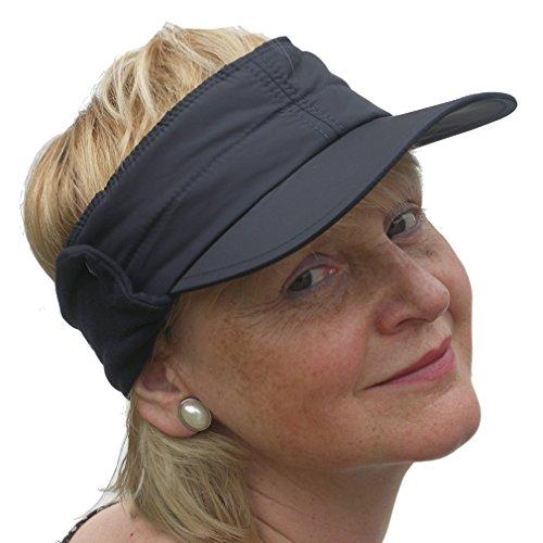 Daily Sports Ladies   Mens Unisex Golf   Tennis Wind Sun Visor in Navy Blue 1e3b5f6a918e