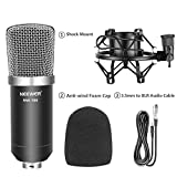 Neewer BM-700 Professional Studio Broadcasting and Recording Condenser Microphone Kit - Black