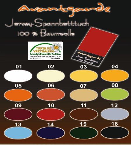 SPANNBETTLAKEN WASSERBETTEN BOXSPRINGBETTEN 180x200-200x220 165gr/m² Öko-Tex-Zertifikat Avantgarde 100% Baumwolle 19 Farben (16-schwarz)
