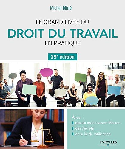 Le grand livre du droit du travail en pratique: A jour : des six ordonnances Macron, des décrets, de la loi de ratification par Michel Miné