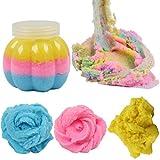 gaddrt Schöne Farbe Fee Floss Wolke Schleim 50g Schlamm mit reduziertem Druck Entspannung Kinder Ton Spielzeug (B)
