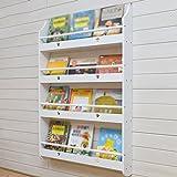 zhiwujia Estantería para libros infantiles Estantería para pared Estantería para bebés Estante para libros...