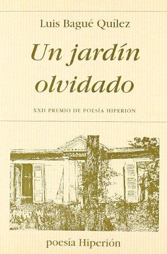 Un jardín olvidado (Poesía Hiperión)