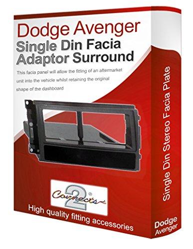 dodge-avenger-radio-stereo-adaptateur-facade-dautoradio-facade-dautoradio-panneau-plaque-cd-surround