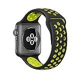 Apple Watch Series 2 Silikon Armband Pinhen Silikon Schnellverschluss Sport Wiedereinbau Uhrenarmband Ersatzband Bügel für Apple Watch