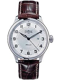 Davosa Herren-Armbanduhr Analog Edelstahl Silber 16148316