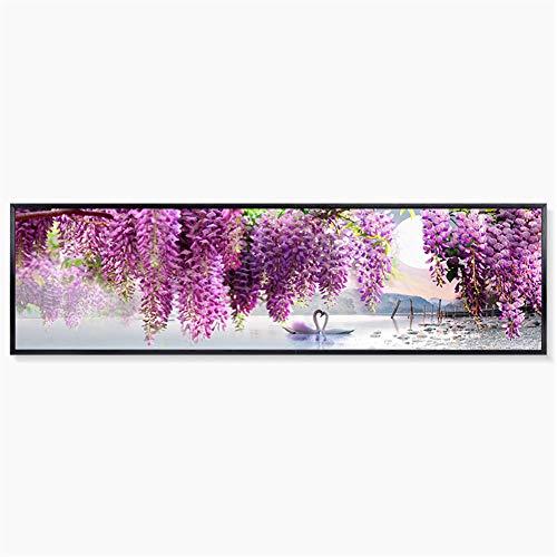 Wandbilder Lavendel Schlafzimmer Bett Banner Dekorative Plane Malerei Wohnzimmer Sofa Hintergrund Wandbehang Bilderrahmen Farbe Kann Angepasst Werden