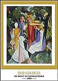 Kunstkalender 2020 - Der Goldene DUMONT-Kunstkalender - Wandkalender - Hochformat A3