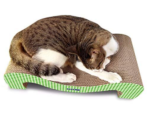 Platte Stimmung neues Plaid-Muster doppelseitiges Klauengerät Katzennest ()