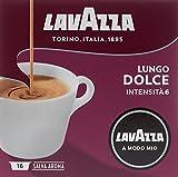 Lavazza A Modo Mio Café Crema Lungo Dolce 16 capsules - Lot de 2