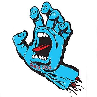 "Santa Cruz Screaming Hand 6"" Sticker"